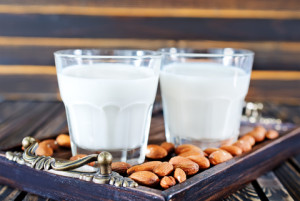 almond milk dairy alternative